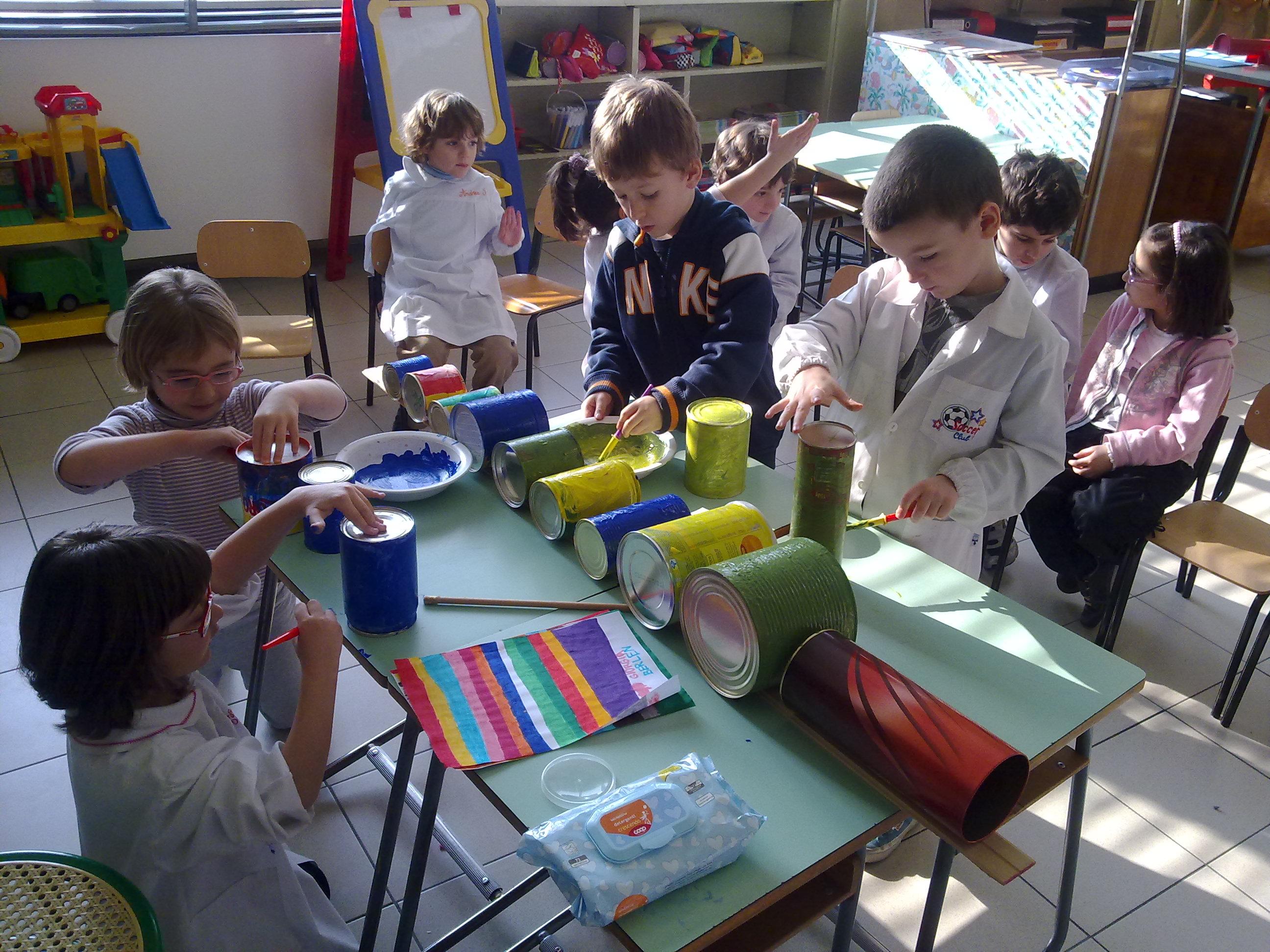 Favorito Gite scolastiche - Progetto riciclo WX47
